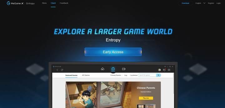 Tencent'in oyun mağazası WeGame X açıldı