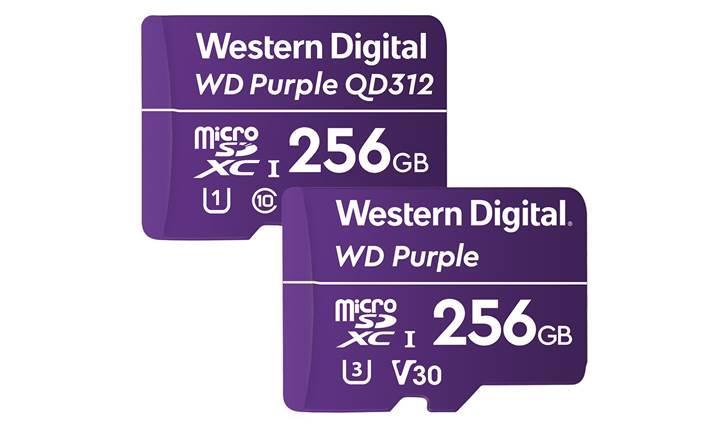 Western Digital güvenlik kameralarına yönelik dayanıklı hafıza kartlarını tanıttı