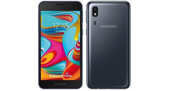 Samsung Galaxy A2 Core'un fiyatı ortaya çıktı