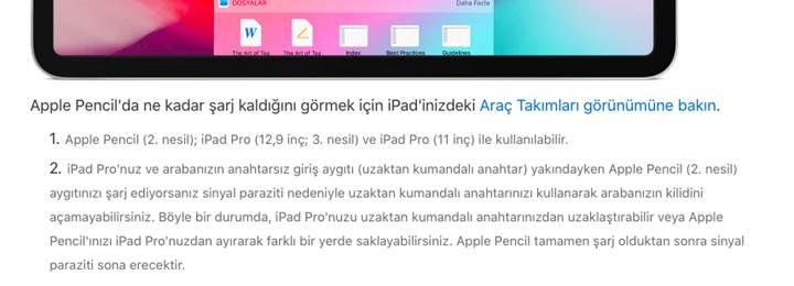 Apple uyardı: iPad Pro kullanıcıları Apple Pencil ve araba anahtarlarını birbirinden uzak tutmalı