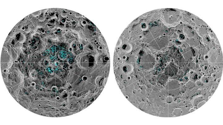 NASA, Ay'ın 'buzla kaplı' kutuplarına astronot gönderecek