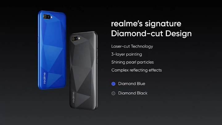 Realme'nin 85 dolarlık modeli C2 tanıtıldı