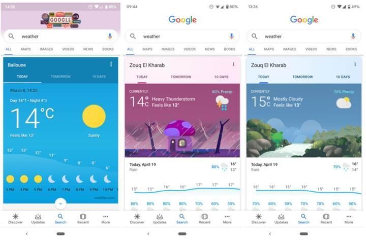 Google, mobil aramalardaki bilgi kartlarını daha işlevsel hale getirdi