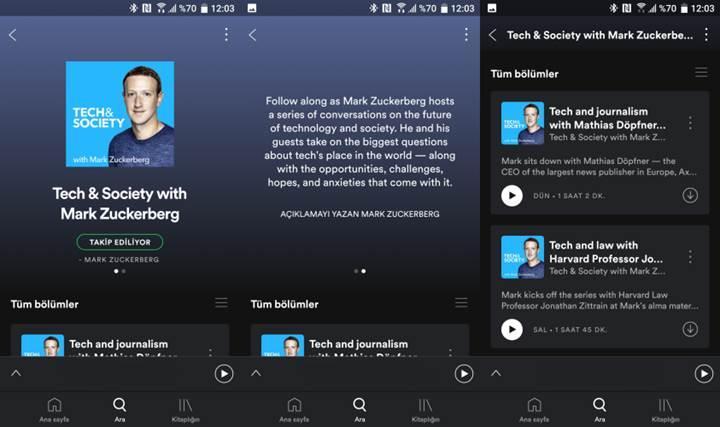 'Mark Zuckerberg ile Teknoloji ve Toplum' podcast serisi yayınlandı