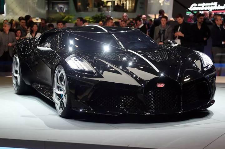 Dünyanın en pahalı otomobili Bugatti La Voiture Noire'i Cristiano Ronaldo'nun aldığı iddia ediliyor
