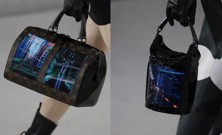Louis Vuitton'dan esnek ekranlı kol çantası