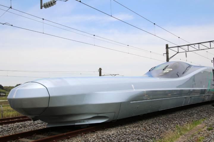 400 km/s hız yapan Alfa-X treni Japonya'da test edilmeye başladı