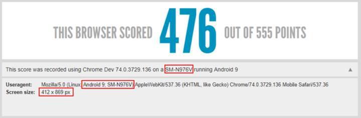Galaxy Note 10 HTML5 sızıntısı ekran en-boy oranını ortaya çıkardı