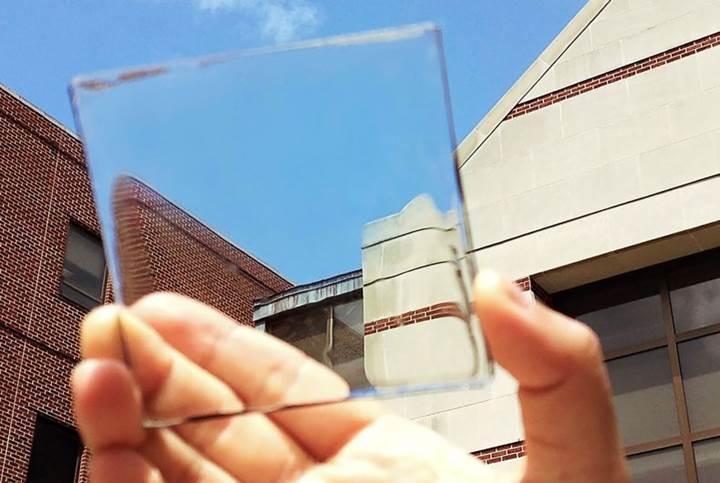 Şeffaf güneş panelleri, pencerelere enerji toplama özelliği kazandıracak