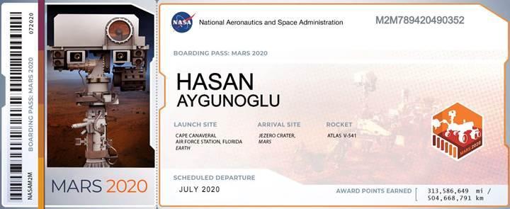 İsminizi Mars'a göndermek ister misiniz? NASA, 2020 için kayıtları başlattı