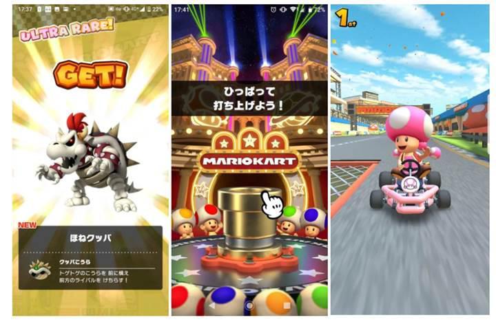 Mario Kart Tour oyununun beta test görüntüleri ortaya çıktı