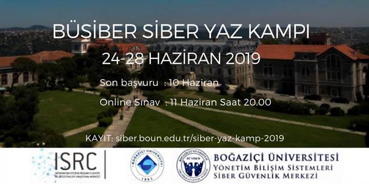 Boğaziçi Üniversitesi ücretsiz Siber Yaz Kampı 2019 için başvurular başladı