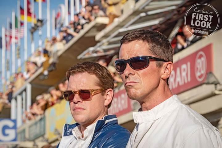 Ford v. Ferrari: Matt Damon ve Christian Bale'li filmden ilk görseller