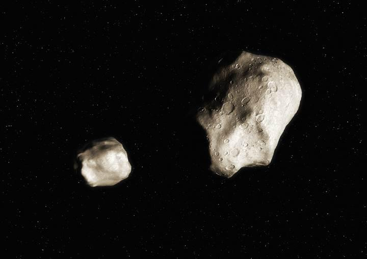 Keşfedilen asteroitin kendi uydusu bulunuyor