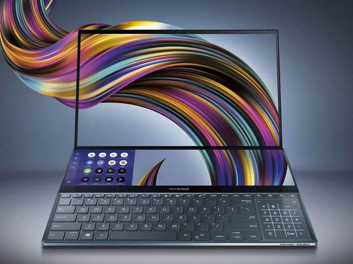 Asus ZenBook Pro Duo: İki 4K ekranlı dizüstü bilgisayar