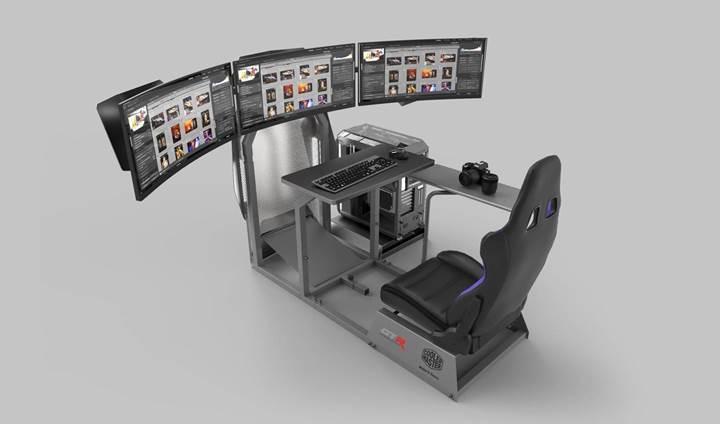 Cooler Master ve GTR Simulator yarış simülasyonunu duyurdu