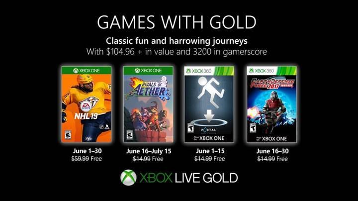 Xbox Live Gold Haziran 2019 oyunları açıklandı