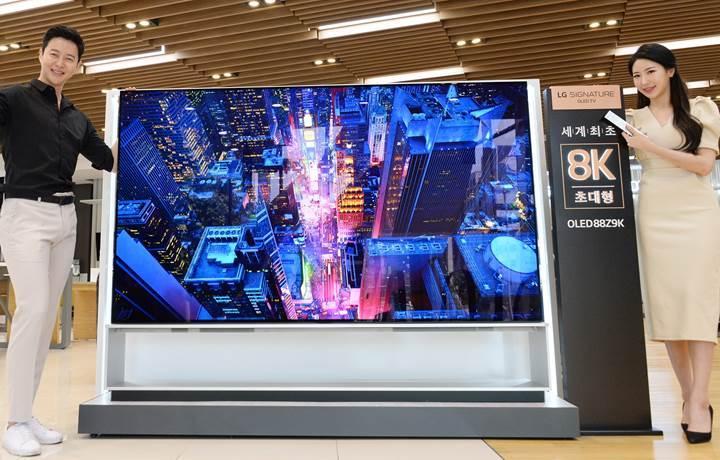 İlk LG 8K OLED TV bu hafta satışa çıkıyor