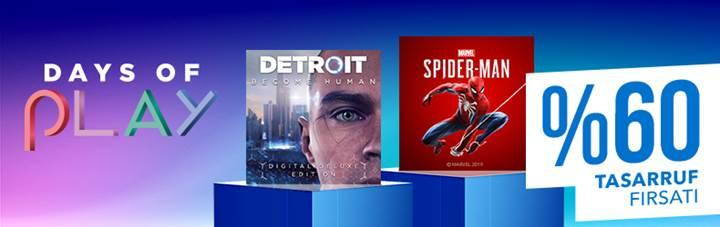 PS Store'da büyük indirim dönemi 'Days of Play' başladı