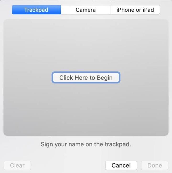 macOS Catalina'daki Önizleme ile belgeleri iPhone ya da iPad kullanarak imzalamak artık mümkün