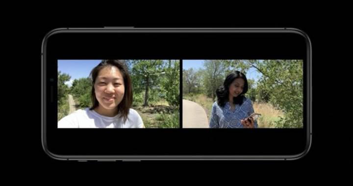 iOS 13 aynı anda, hem ön hem arka kameradan video kaydedilmesine izin verecek