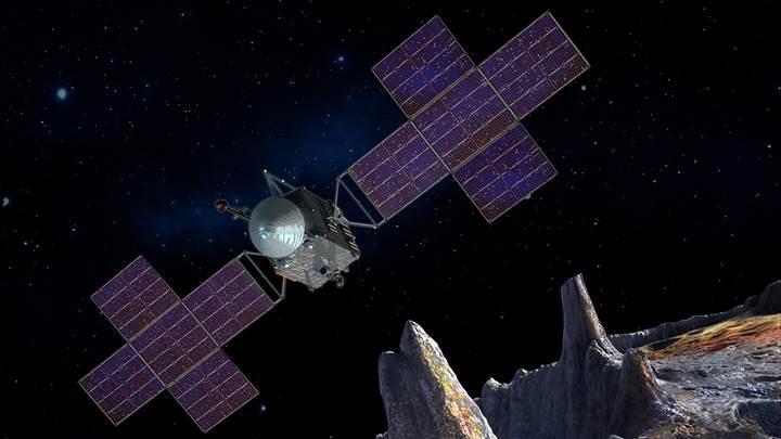 NASA'nın Psyche asteroitine düzenleyeceği görevin detayları ortaya çıkıyor