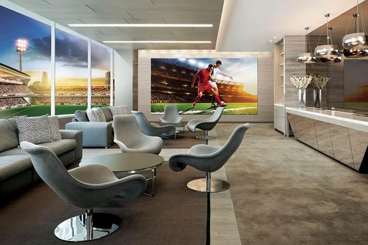 Samsung'dan 292 inçlik 8k modüler TV: The Wall Luxury