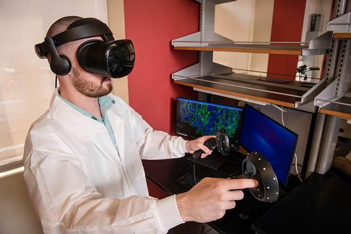 Mikroskobi ve sanal gerçeklik, hastalıklara karşı kullanılabilecek