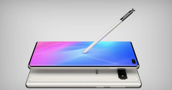 Samsung Galaxy Note 10'un tasarımı netleşiyor
