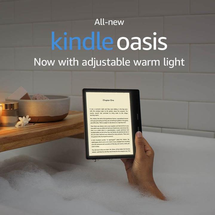 Kindle Oasis renk tonu değiştirme özelliği ile yenilendi