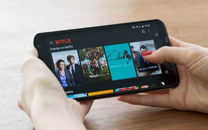 Netflix mobil cihazlar için