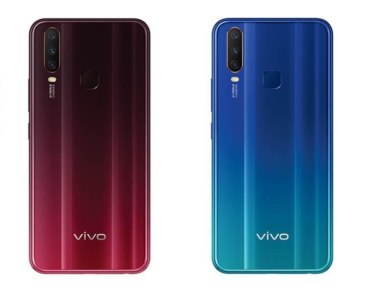 Üç arka kameralı Vivo Y12 resmen duyuruldu