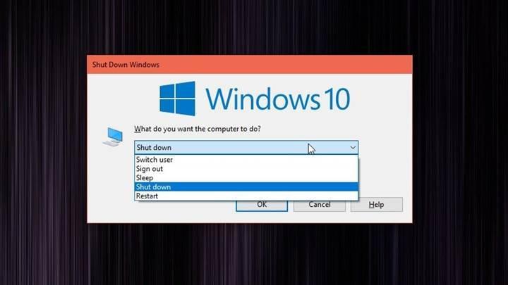 Windows 10'da ortaya çıkan hata, bilgisayarın kapanmasını yavaşlatıyor