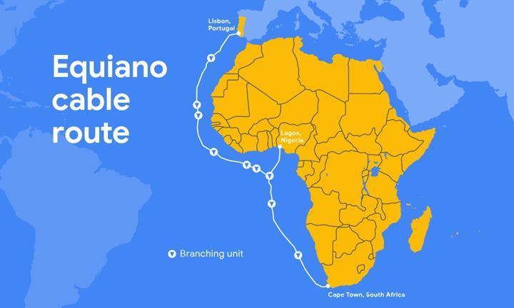 Google'ın yeni internet kablosu Afrika ve Avrupa'yı birbirine bağlayacak