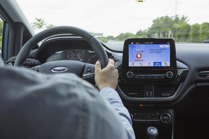 Ford ve Vodafone, 'Park Yeri Kılavuzu' isimli yeni bir teknoloji test ediyor