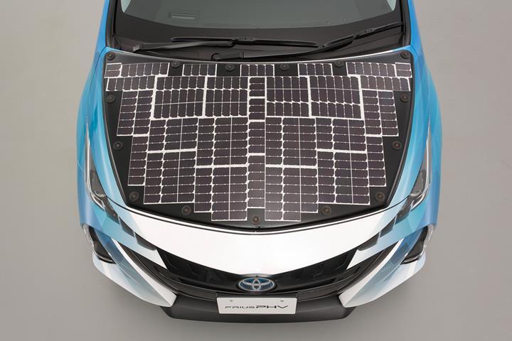 Toyota kendi kendini şarj edebilen güneş enerjili otomobil üzerinde çalışıyor