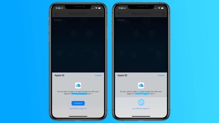 iCloud Web üzerinde Face ID ve Touch ID kullanılabilecek