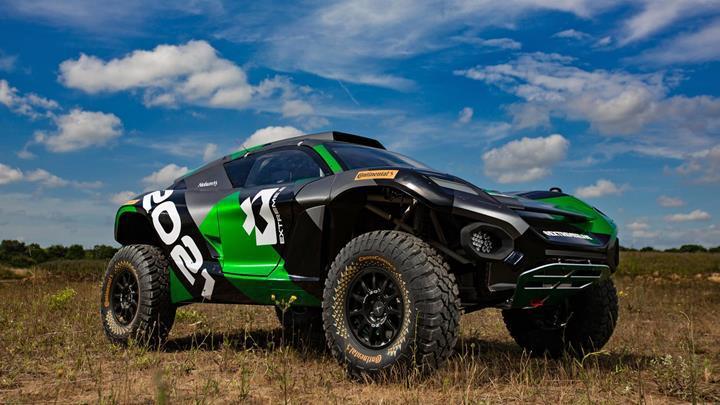 %100 elektrikli offroad araçlarının rekabet edeceği yepyeni bir yarış serisi geliyor