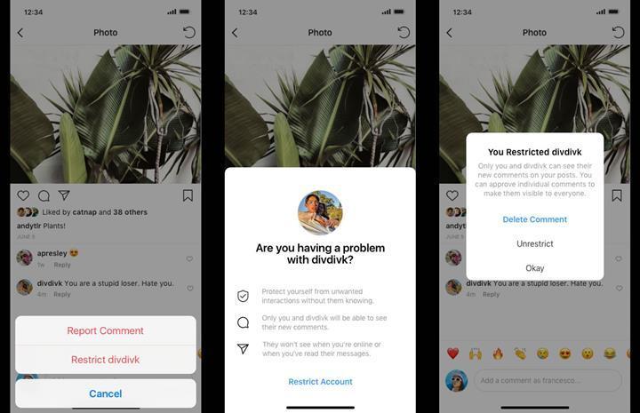 Instagram yapay zeka desteğiyle saldırgan içerikli yorumları azaltmayı hedefliyor