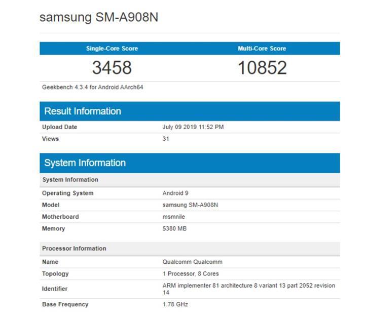 Galaxy A90 detaylanıyor