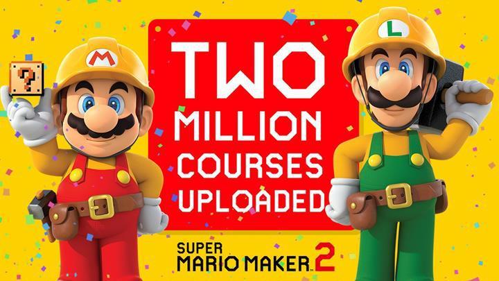 Super Mario Maker 2 oyununda kısa sürede 2 milyon seviye üretildi