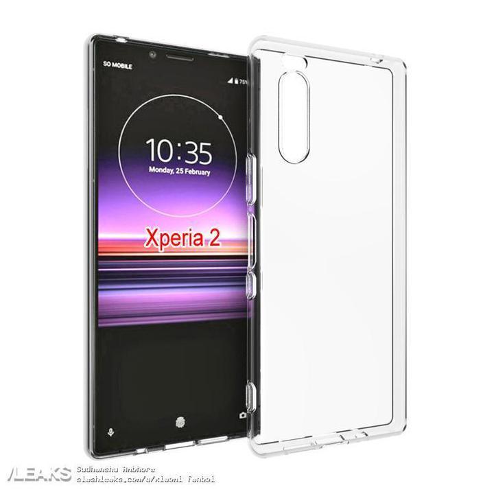 Sony Xperia 2'nin tasarımı ortaya çıktı