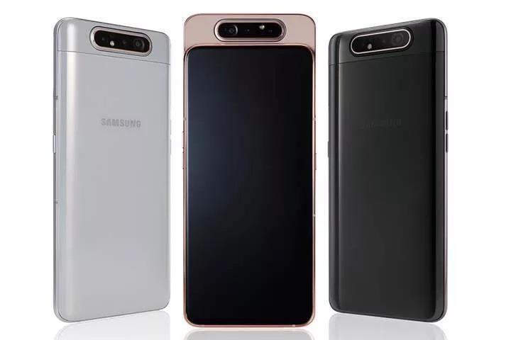 Galaxy A80 ülkemizde satışa sunuldu