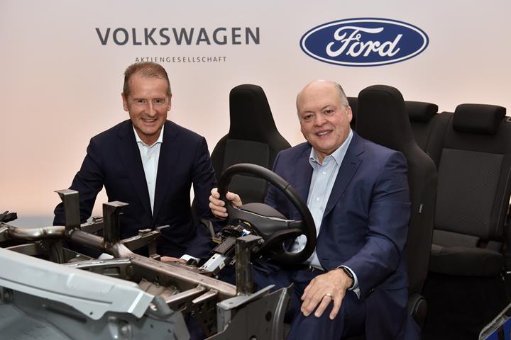 Ford, Volkswagen'in altyapısını kullanan elektrikli araç üretecek