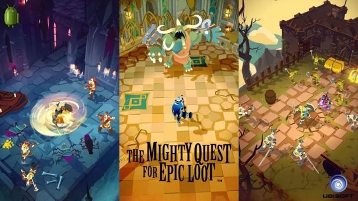 Ubisoft'un The Mighty Quest for Epic Loot oyunu indirmeye sunuldu