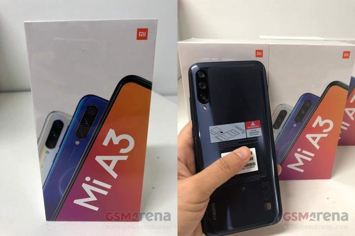Xiaomi Mi A3 canlı olarak görüntülendi