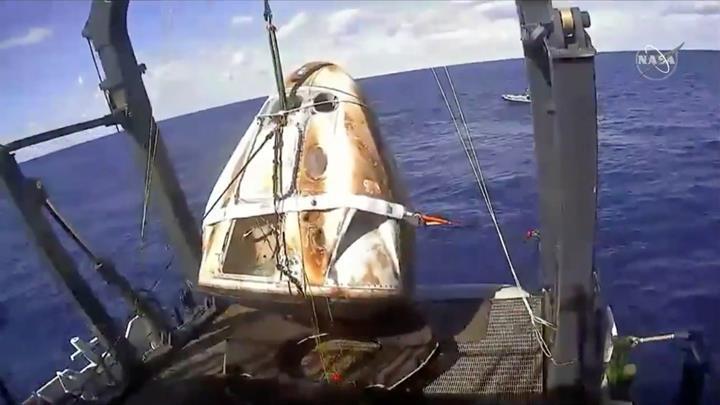 Crew Dragon uzay kapsülünün neden infilak ettiği ortaya çıktı