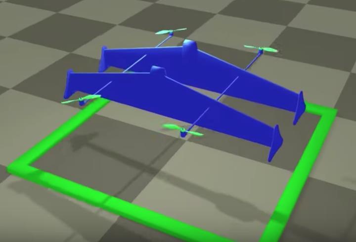 MIT'nin CSAIL ekibi yeni bir hibrit drone modeli üzerinde çalışıyor