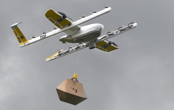 Wing, drone pilotları için tasarlamış olduğu OpenSky uygulamasını tanıttı