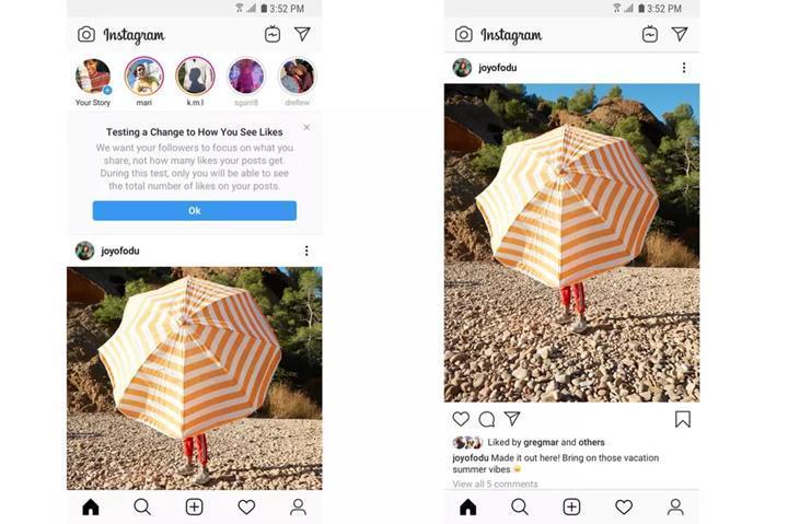 Instagram beğeni sayılarını gizleme testini genişletti